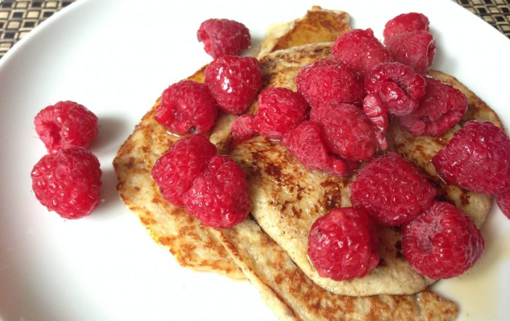 2 ingredient protein pancakes