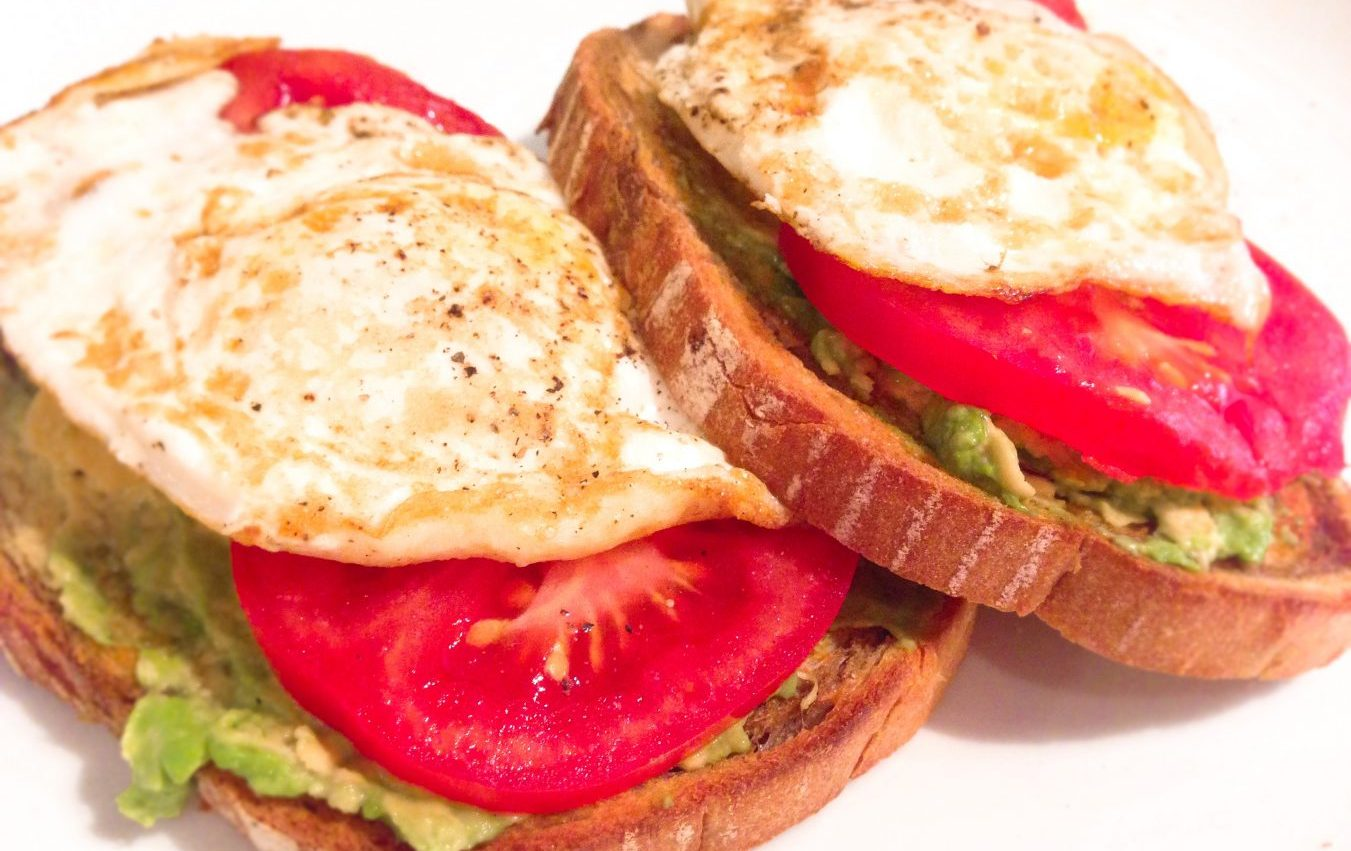 Avocado and Egg Sandwich